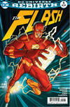 Cover Thumbnail for The Flash (2016 series) #5 [Dave Johnson Cover Variant]