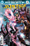 Cover for Justice League (DC, 2016 series) #5 [Tony S. Daniel / Sandu Florea Cover]
