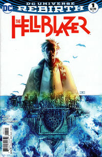 Cover Thumbnail for Hellblazer (DC, 2016 series) #1 [Variant Cover by Cassaday]