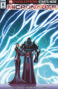 Cover Thumbnail for Micronauts (IDW, 2016 series) #5