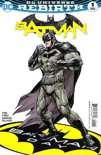 Cover Thumbnail for Batman 1 Batman Day Special Edition: Direct Market Edition (DC, 2016 series) #1