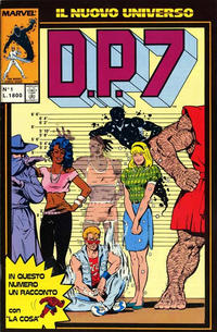 Cover Thumbnail for D.P.7 (Play Press, 1989 series) #1