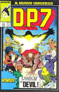 Cover Thumbnail for D.P.7 (Play Press, 1989 series) #4