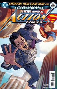 Cover Thumbnail for Action Comics (DC, 2011 series) #963 [Clay Mann Cover Variant]
