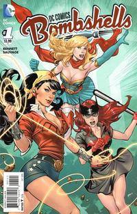 Cover Thumbnail for DC Comics: Bombshells (DC, 2015 series) #1 [Emanuela Lupacchino Cover]