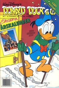 Cover Thumbnail for Donald Duck & Co (Hjemmet / Egmont, 1948 series) #1/1992