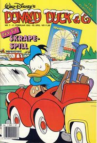 Cover Thumbnail for Donald Duck & Co (Hjemmet / Egmont, 1948 series) #7/1992