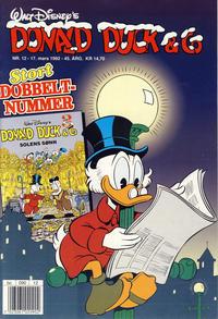 Cover Thumbnail for Donald Duck & Co (Hjemmet / Egmont, 1948 series) #12/1992
