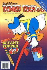 Cover Thumbnail for Donald Duck & Co (Hjemmet / Egmont, 1948 series) #13/1992