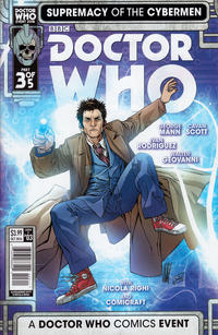 Cover Thumbnail for Doctor Who: Supremacy of the Cybermen (Titan, 2016 series) #3 [Cover A]