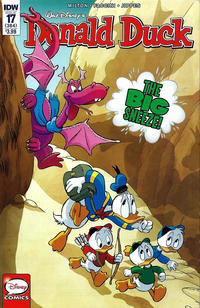 Cover Thumbnail for Donald Duck (IDW, 2015 series) #17 / 384