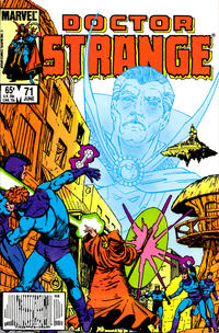 Cover Thumbnail for Doctor Strange (Marvel, 1974 series) #71 [Direct Edition]