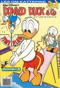 Cover Thumbnail for Donald Duck & Co (Hjemmet / Egmont, 1948 series) #33/1992