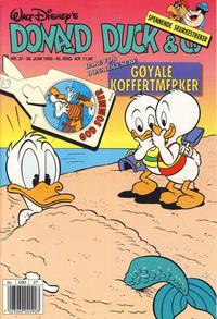 Cover Thumbnail for Donald Duck & Co (Hjemmet / Egmont, 1948 series) #27/1992