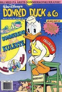 Cover Thumbnail for Donald Duck & Co (Hjemmet / Egmont, 1948 series) #29/1992