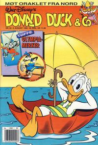 Cover Thumbnail for Donald Duck & Co (Hjemmet / Egmont, 1948 series) #32/1992