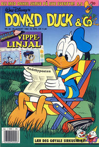 Cover Thumbnail for Donald Duck & Co (Hjemmet / Egmont, 1948 series) #35/1992