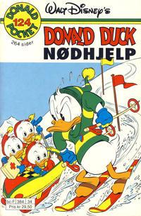 Cover Thumbnail for Donald Pocket (Hjemmet / Egmont, 1968 series) #124 - Nødhjelp [Reutsendelse]
