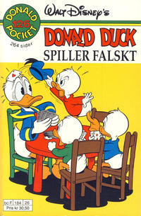 Cover Thumbnail for Donald Pocket (Hjemmet / Egmont, 1968 series) #126 - Donald Duck spiller falskt [1. opplag]