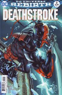 Cover Thumbnail for Deathstroke (DC, 2016 series) #2 [Shane Davis Cover]