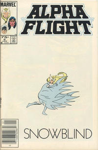 Cover Thumbnail for Alpha Flight (Marvel, 1983 series) #6 [Canadian]