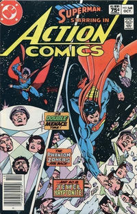 Cover Thumbnail for Action Comics (DC, 1938 series) #548 [Canadian]