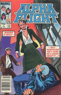 Cover Thumbnail for Alpha Flight (Marvel, 1983 series) #7 [Canadian Newsstand Edition]