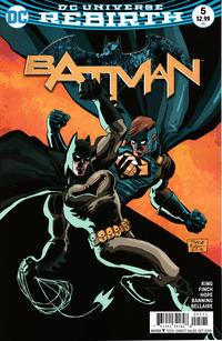 Cover Thumbnail for Batman (DC, 2016 series) #5 [Tim Sale Cover]