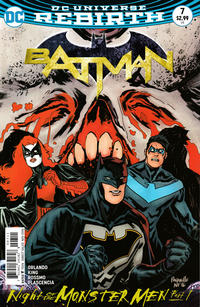 Cover for Batman (DC, 2016 series) #7 [Tim Sale Cover]