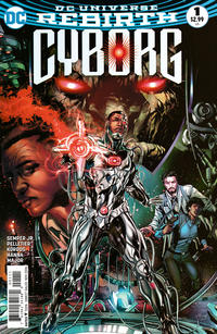 Cover Thumbnail for Cyborg (DC, 2016 series) #1 [Will Conrad Cover]