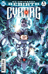 Cover Thumbnail for Cyborg (DC, 2016 series) #1 [Carlos D'Anda Variant Cover]