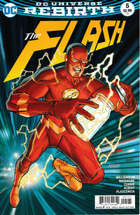 Cover Thumbnail for The Flash (DC, 2016 series) #5 [Dave Johnson Cover Variant]