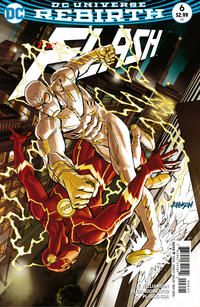 Cover Thumbnail for The Flash (DC, 2016 series) #6 [Dave Johnson Variant Cover]