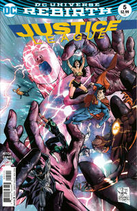 Cover Thumbnail for Justice League (DC, 2016 series) #5 [Tony S. Daniel Cover Variant]