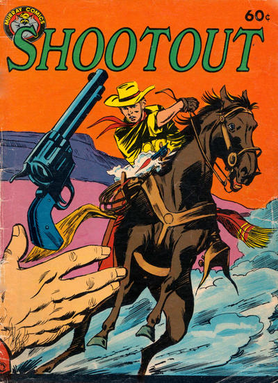 Cover for Shootout (K. G. Murray, 1982 ? series)