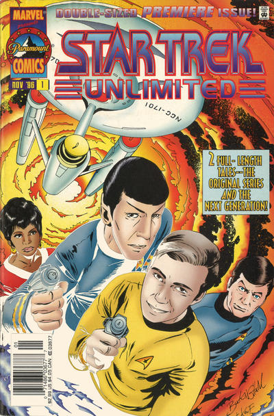 Cover for Star Trek Unlimited (Marvel, 1996 series) #1