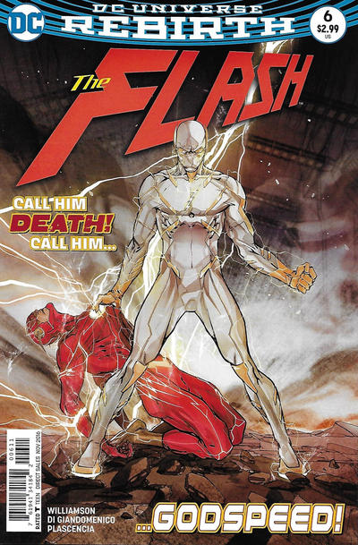 Cover for The Flash (DC, 2016 series) #6 [Dave Johnson Variant Cover]