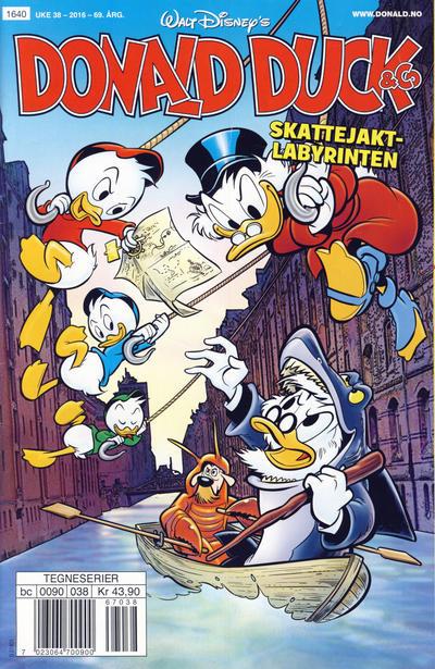 Cover for Donald Duck & Co (Hjemmet / Egmont, 1948 series) #38/2016