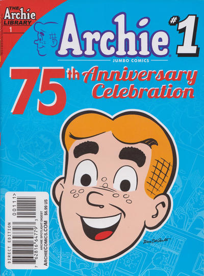 Cover for Archie Spotlight Digest: Archie 75th Anniversary Digest (Archie, 2016 series) #1