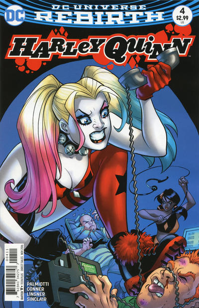 Cover for Harley Quinn (DC, 2016 series) #4