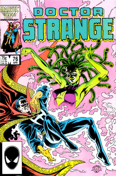 Cover for Doctor Strange (Marvel, 1974 series) #76 [Direct Edition]