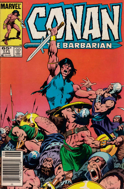 Cover for Conan the Barbarian (Marvel, 1970 series) #171 [Direct Edition]