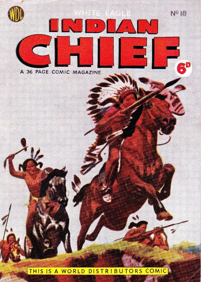Cover for Indian Chief (World Distributors, 1953 series) #18