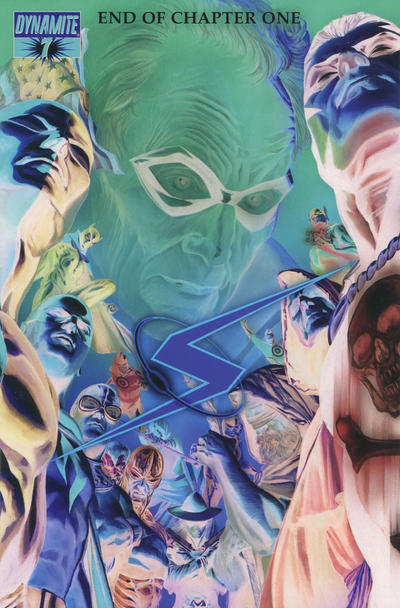 Cover for Project Superpowers (Dynamite Entertainment, 2008 series) #7 [Alex Ross Main Cover]