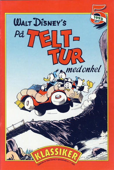 Cover for Donald Duck & Co Ekstra [Bilag til Donald Duck & Co] (Hjemmet / Egmont, 1985 series) #5/1993