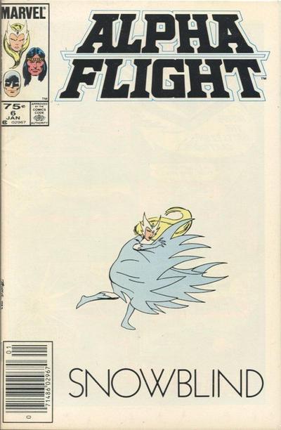 Cover for Alpha Flight (Marvel, 1983 series) #6 [Direct]