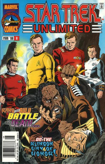 Cover for Star Trek Unlimited (Marvel, 1996 series) #8