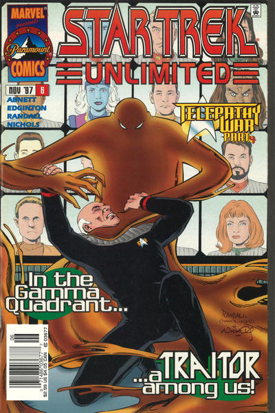 Cover for Star Trek Unlimited (Marvel, 1996 series) #6