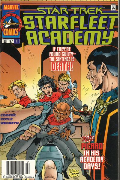 Cover for Star Trek: Starfleet Academy (Marvel, 1996 series) #11