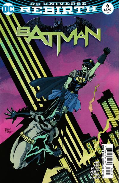 Cover for Batman (DC, 2016 series) #6 [David Finch]